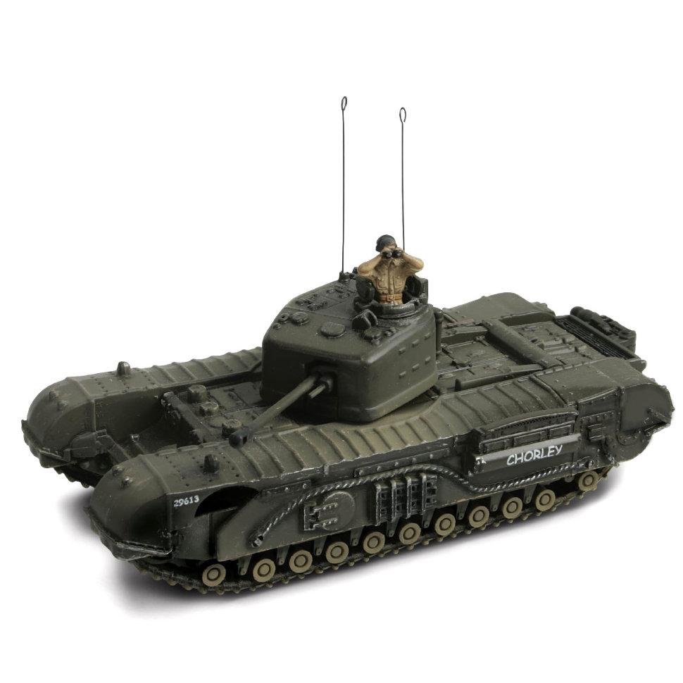 Модель танка Infantry MK IV Churchill MK. VII, Нормандия - Великобритания 1944, 1:72Военная техника<br>Модель танка Infantry MK IV Churchill MK. VII, Нормандия - Великобритания 1944, 1:72<br>