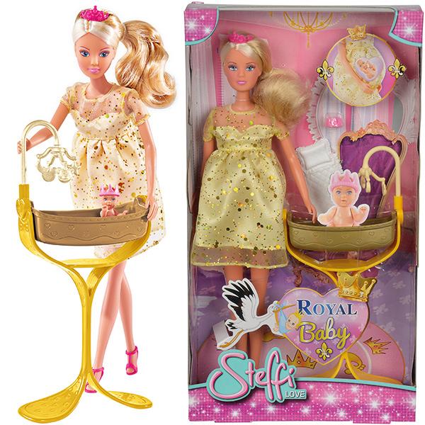 Кукла Штеффи беременная из серии Королевский набор, 29 см.Куклы Steffi (Штеффи)<br>Кукла Штеффи беременная из серии Королевский набор, 29 см.<br>