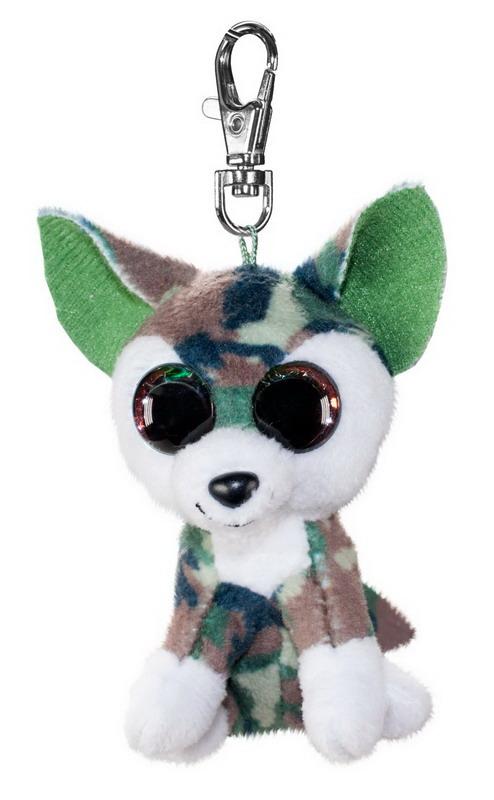 Брелок - Волк Woody, серо-зеленый, 8,5 см