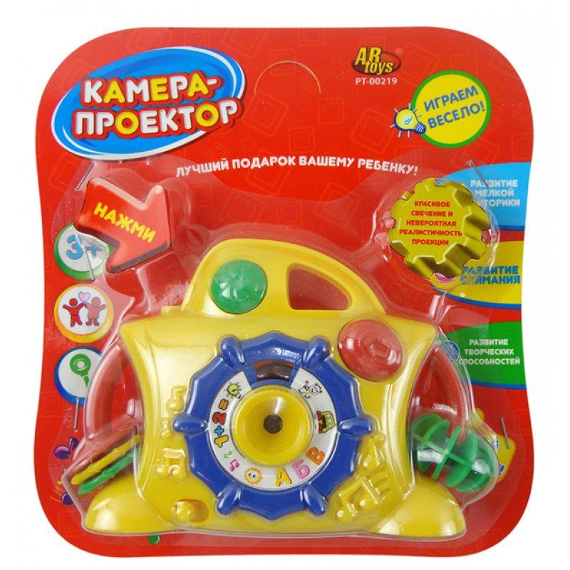 Развивающая игрушка – Камера-проектор, свет, звук