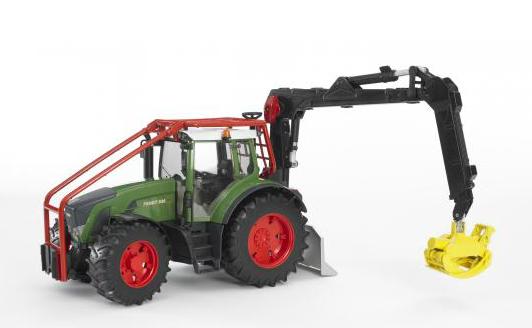 Купить Трактор Bruder Fendt 936 Vario лесной с манипулятором