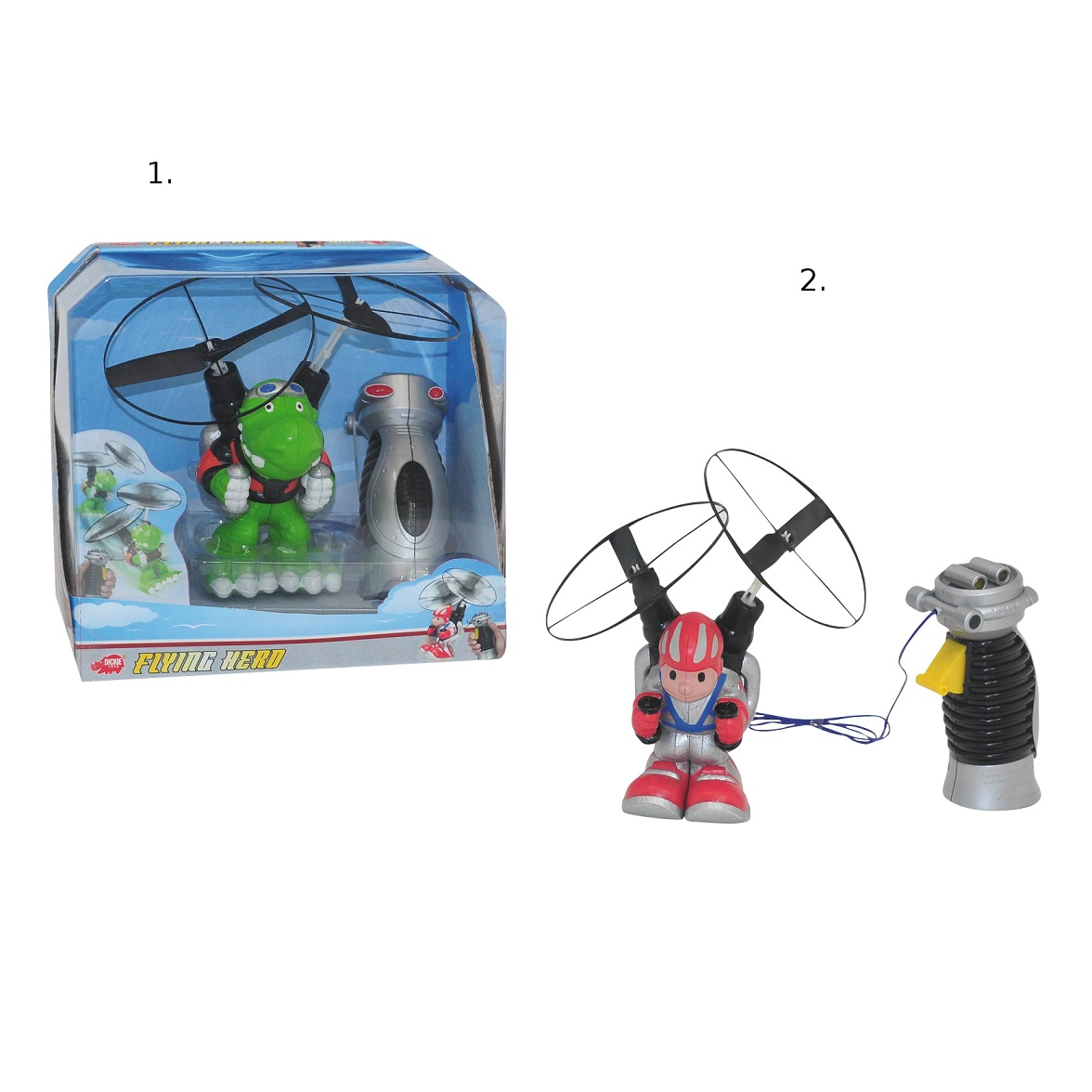 Летающий герой на дистанционном управлении, 15 см., 2 видаЛетающие игрушки<br>Летающий герой на дистанционном управлении, 15 см., 2 вида<br>