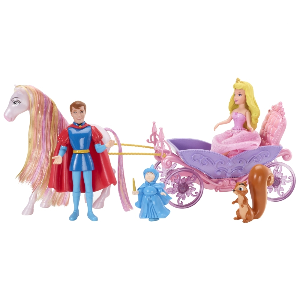 Подарочный набор «Маленькое королевство» с мини-куклой Спящая красавицаСпящая красавица<br>Подарочный набор «Маленькое королевство» с мини-куклой Спящая красавица<br>