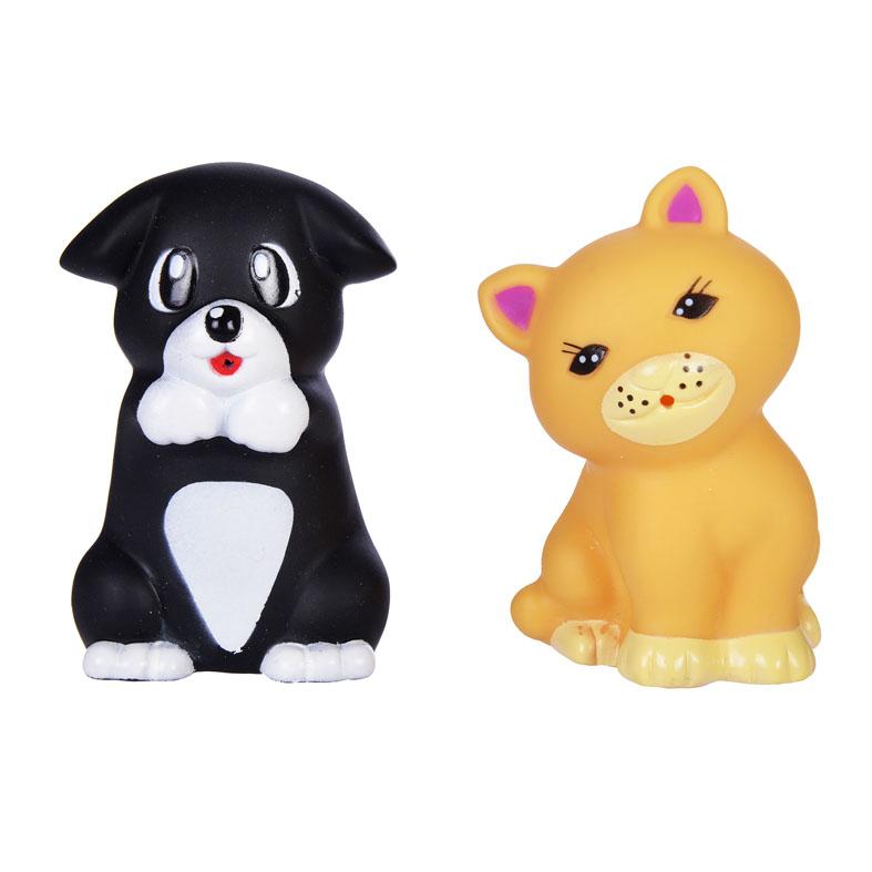 Купить Набор для купания – Котенок и щенок, Жирафики