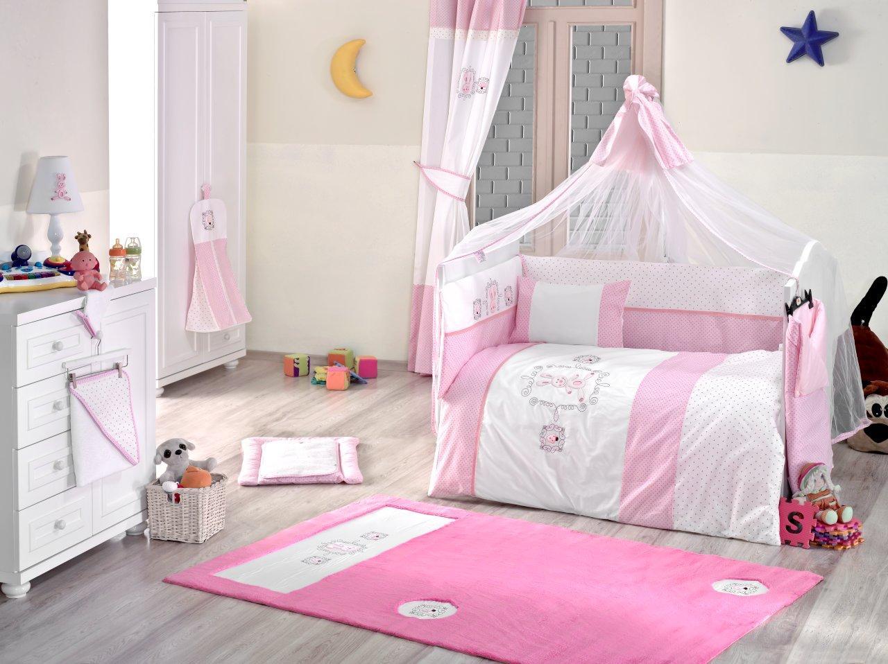 Купить Балдахин серии Rabitto, 150 х 450 см, розовый, Kidboo
