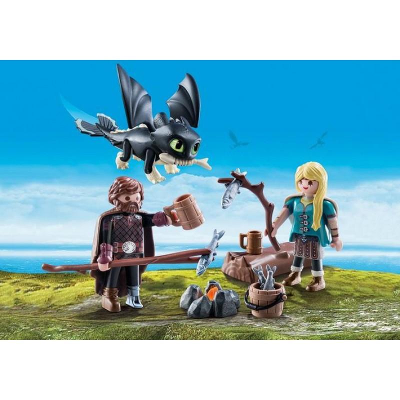 Игровой набор – Драконы III: Иккинг и Астрид от Toyway