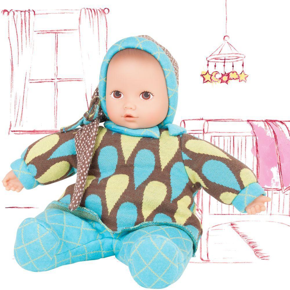 Кукла из серии Baby Pure Малыш в костюме с колпаком от Toyway