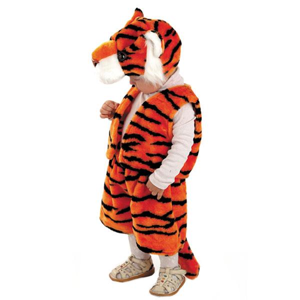 Костюм карнавальный детский – Тигренок из меха, размер 28