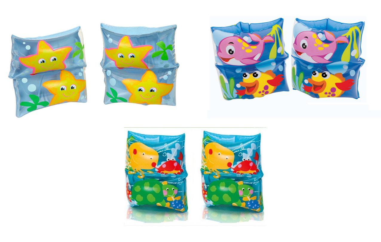 Нарукавники дизайн Рыбки, в пакетеНарукавники и жилеты<br>Нарукавники дизайн Рыбки, в пакете<br>