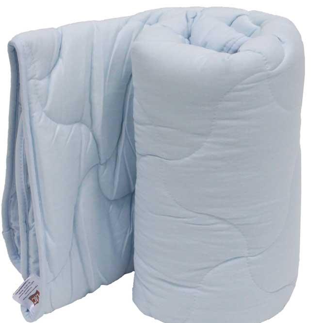 Одеяло для новорожденных, силиконизированное волокно, голубое Tac
