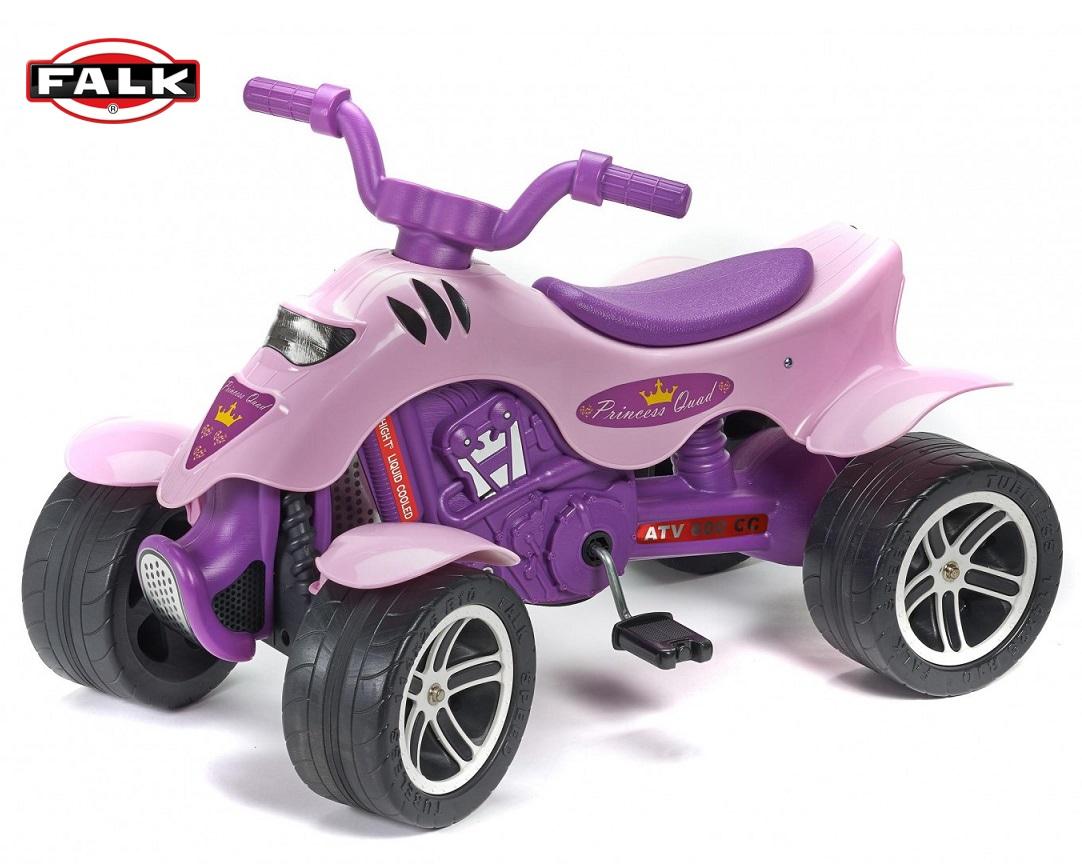 Квадроцикл – Принцесса, лиловый 84 см