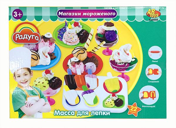 Набор для лепки – Магазин мороженого - Наборы для лепки, артикул: 165589