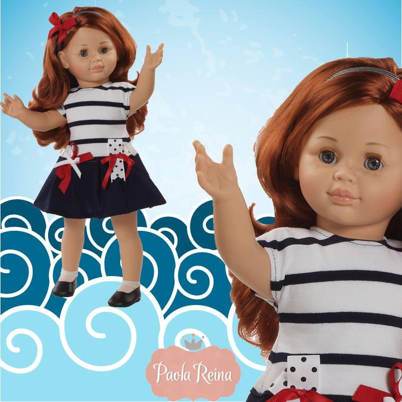 Кукла Майя 47 смИспанские куклы Paola Reina (Паола Рейна)<br>Кукла Майя 47 см<br>