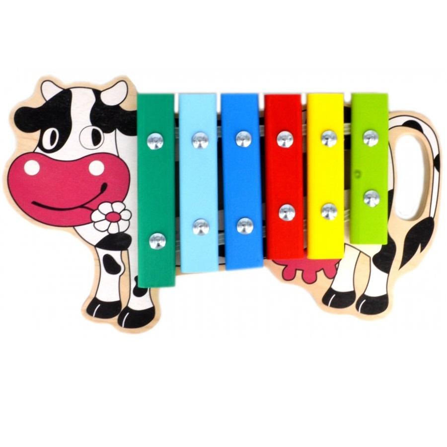 Ксилофон – Корова, 6 нотКсилофоны<br>Ксилофон – Корова, 6 нот<br>