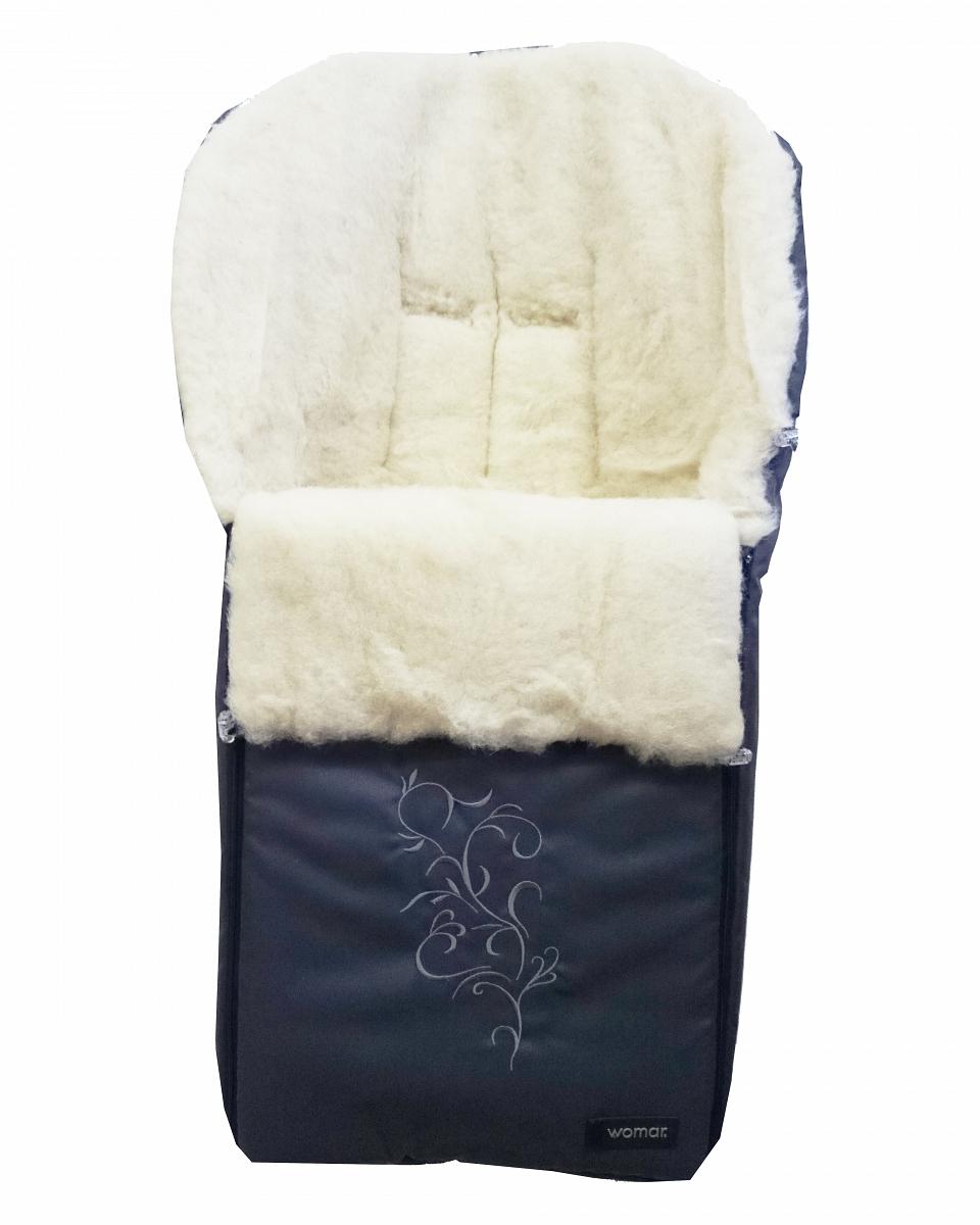 Спальный мешок в коляску №28  Siberia, графитовый - Прогулки и путешествия, артикул: 171063