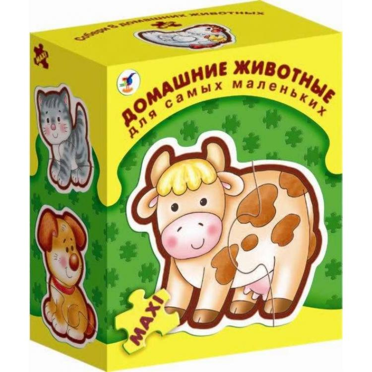 Игра настольная из серии Для самых маленьких - Домашние животныеДля самых маленьких<br>Игра настольная из серии Для самых маленьких - Домашние животные<br>