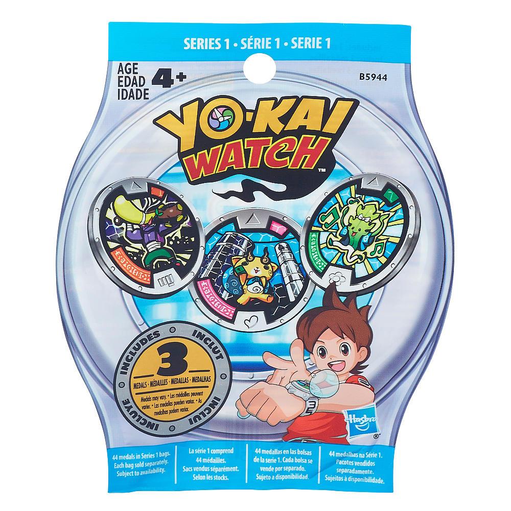 Набор 3 медалей из серии Yokai Watch от Toyway