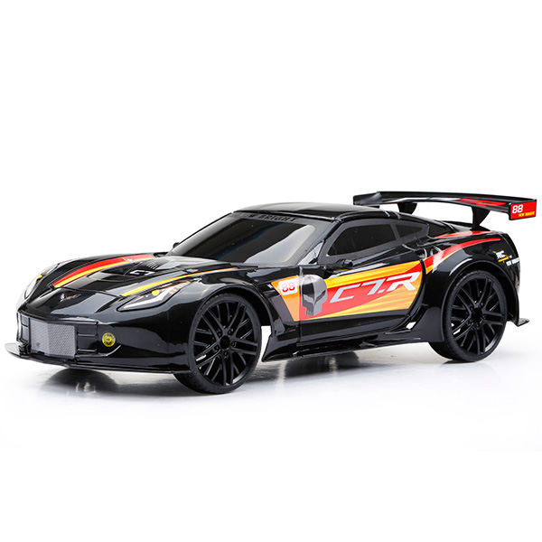 Машинка на радиоуправлении Corvette C7R, чёрныйМашины на р/у<br>Машинка на радиоуправлении Corvette C7R, чёрный<br>