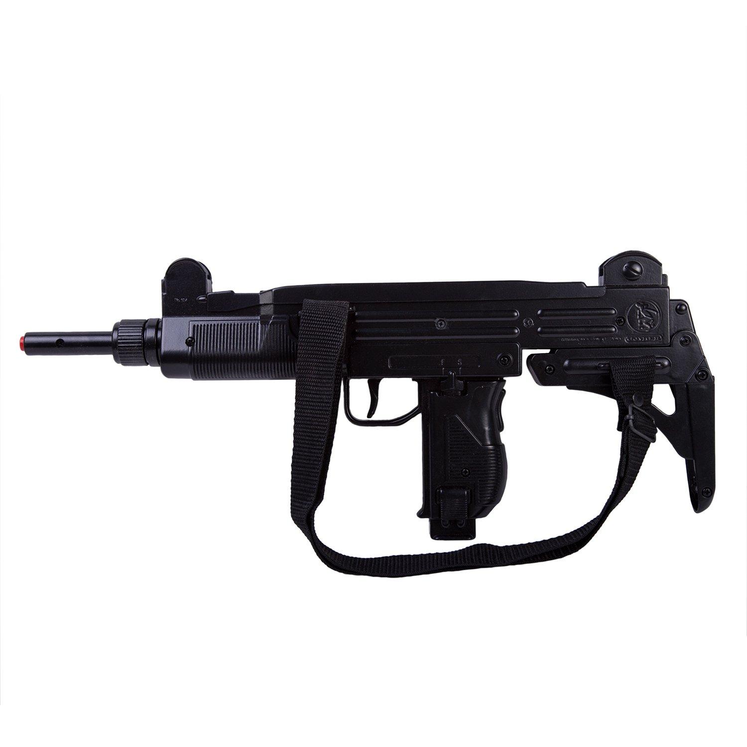 Купить Автоматическая винтовка на 12 пистонов, с плечевым ремнем, Gonher