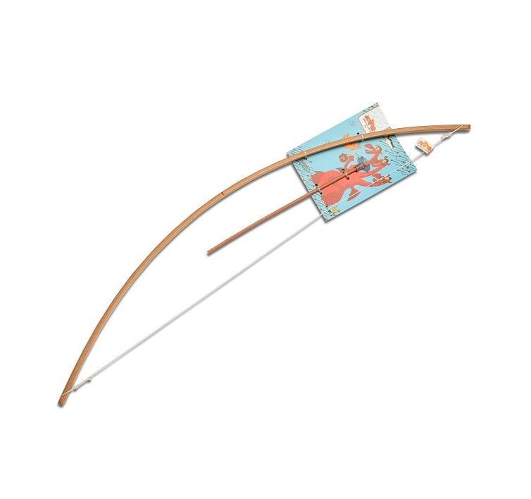 Деревянный лук с одной стрелой из серии Три богатыряОружие из дерева<br>Деревянный лук с одной стрелой из серии Три богатыря<br>