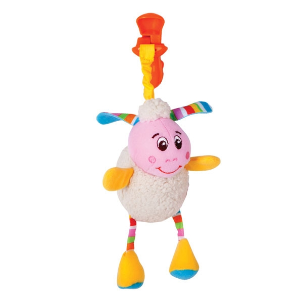 Игрушка Подвеска погремушка в виде овечки Лили 1Детские погремушки и подвесные игрушки на кроватку<br>Игрушка Подвеска погремушка в виде овечки Лили 1<br>
