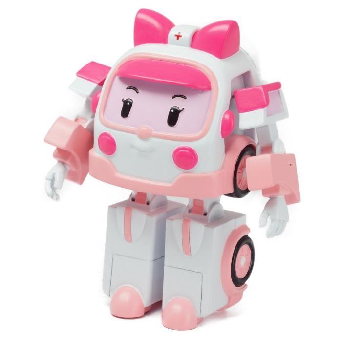 Robocar POLI - Эмбер трансформер, 7,5 смRobocar Poli. Робокар Поли и его друзья<br>Robocar POLI - Эмбер трансформер, 7,5 см<br>