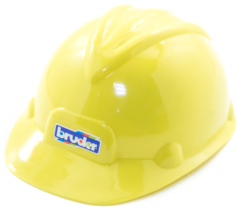Строительная каска с эмблемой «Bruder»Аксессуары<br>Строительная каска с эмблемой «Bruder»<br>