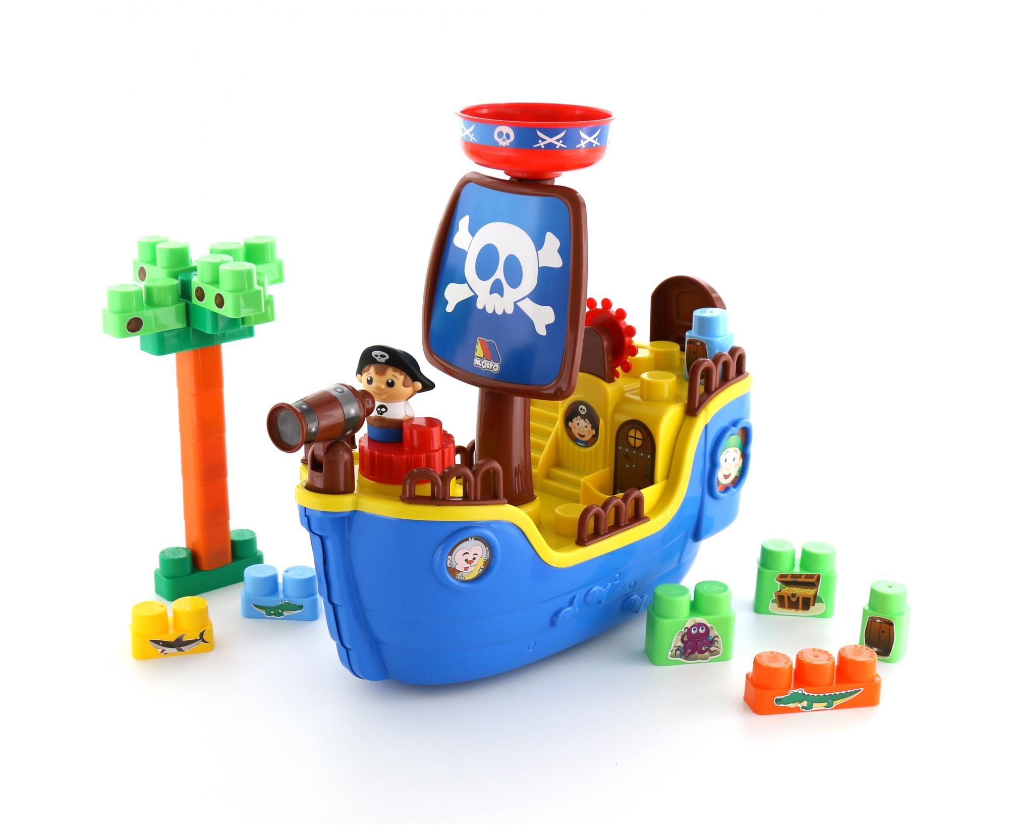 Конструктор Пиратский корабль - Конструкторы Полесье, артикул: 158319