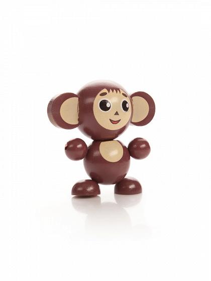 Деревянная игрушка – ЧебурашкаРазное<br>Деревянная игрушка – Чебурашка<br>