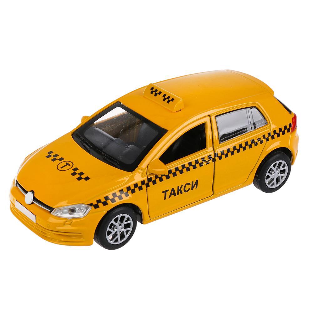 Купить Металлическая инерционная машина - Такси, 12 см, Технопарк