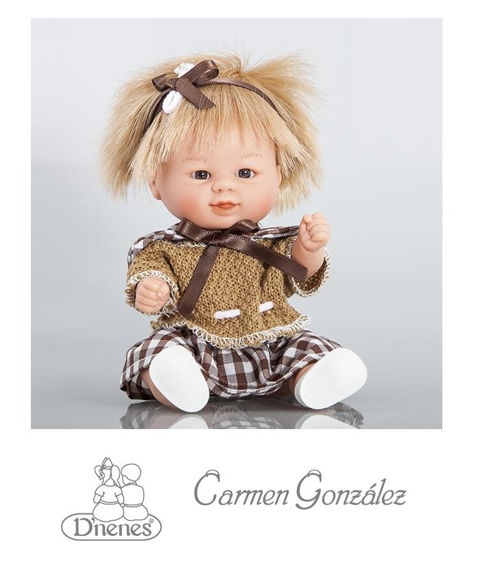 Кукла Бебетин, 21 см в костюме Carmen GonzalezСкидки до 70%<br>Кукла Бебетин, 21 см в костюме Carmen Gonzalez<br>