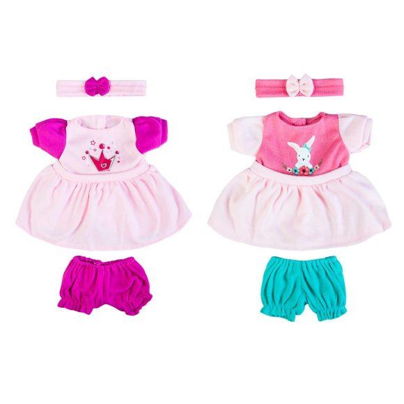 Одежда для куклы 30 см, платье, штанишки и повязка