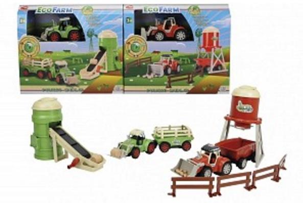 Набор Эко-ферма с трактором, 2 вида - Игровые наборы Зоопарк, Ферма, артикул: 154376