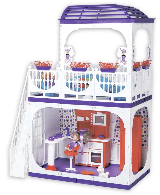 Кукольный дом - КонфеттиКукольные домики<br>Кукольный дом - Конфетти<br>