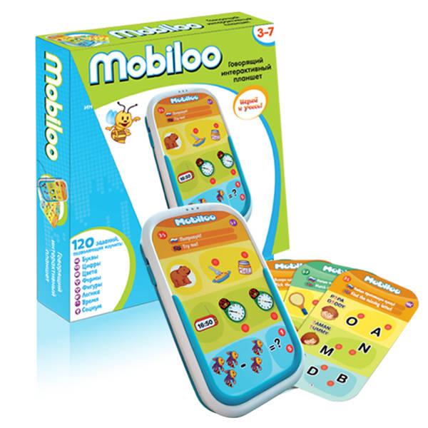 Интерактивный детский развивающий планшет MobilooСкидки до 70%<br>Интерактивный детский развивающий планшет Mobiloo<br>
