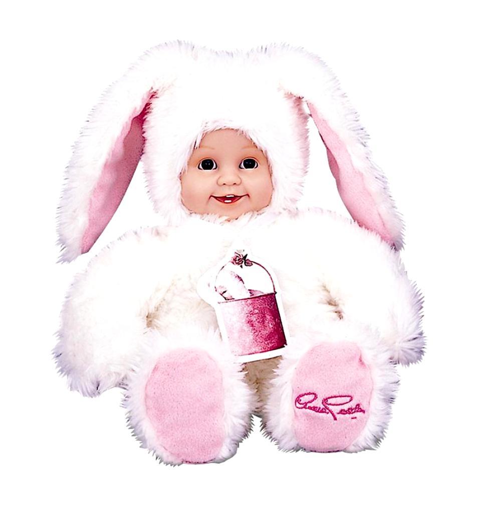 Кукла из серии «Детки-зайчики», 30 см.Куклы детки ANNE GEDDES<br>Кукла из серии «Детки-зайчики», 30 см.<br>