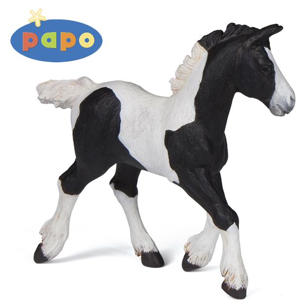 Черный жеребенок кобаЛошади (Horse)<br>Черный жеребенок коба<br>