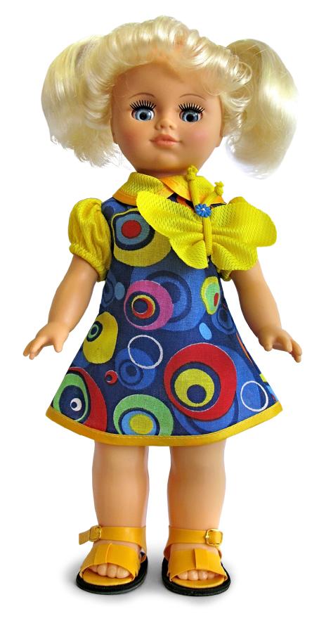 Кукла Лена 9 со звуковым устройством, высота 35смРусские куклы фабрики Весна<br>Кукла Лена 9 со звуковым устройством, высота 35см<br>