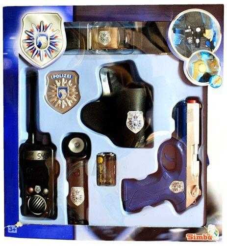 Набор шерифа. Полицейский пояс с аксессуарами - Наборы полицейского и пожарного, артикул: 6163