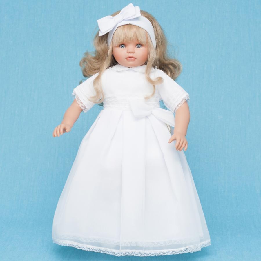 Купить Кукла Пепа с белым бантом, 60 см., ASI
