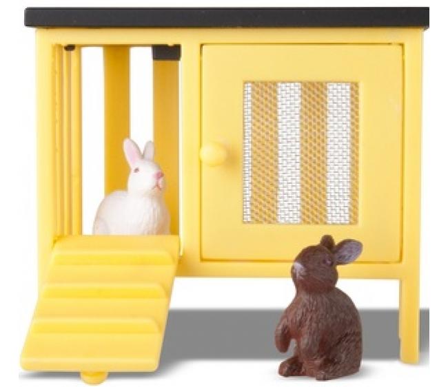 Купить Животные для домика Смоланд - Кролики и домик, Lundby
