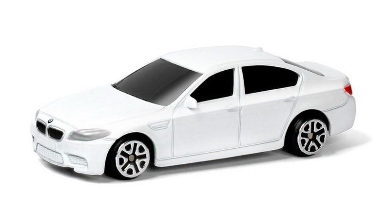 Купить Металлическая машина - BMW M5, 1:64, белый, RMZ City