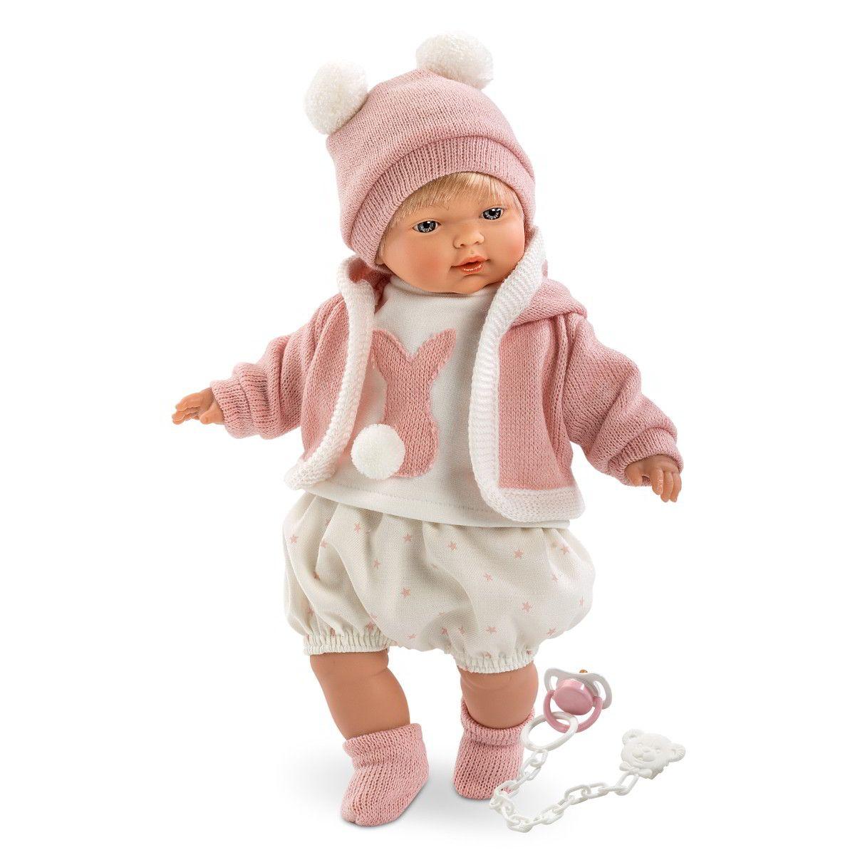 Кукла Кэрол, 33 смИспанские куклы Llorens Juan, S.L.<br>Кукла Кэрол, 33 см<br>