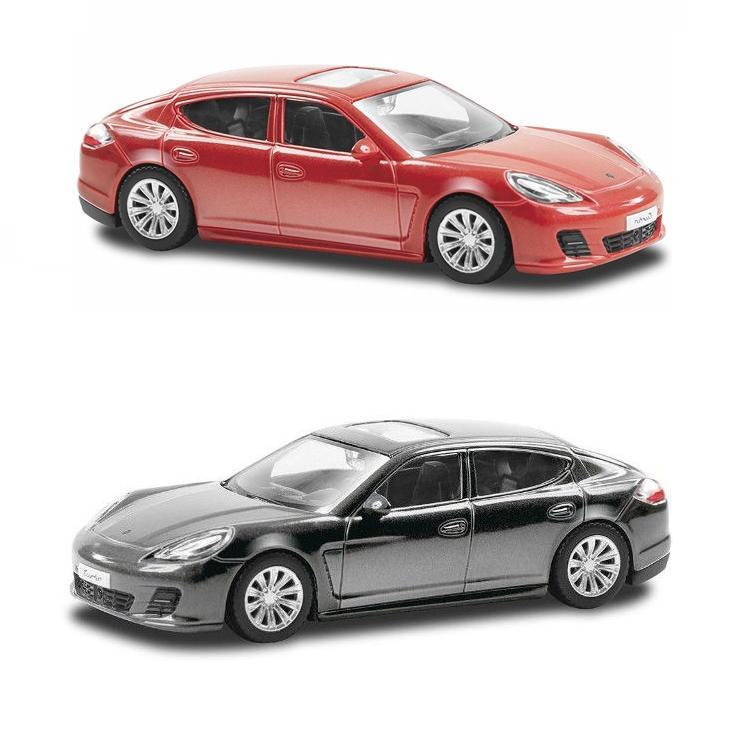Металлическая машина RMZ City - Porsche Panamera Turbo, 1:43Porsche<br>Металлическая машина RMZ City - Porsche Panamera Turbo, 1:43<br>