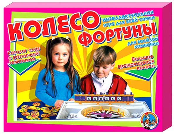 Игра детская настольная Колесо фортуныРазвивающие<br>Игра детская настольная Колесо фортуны<br>