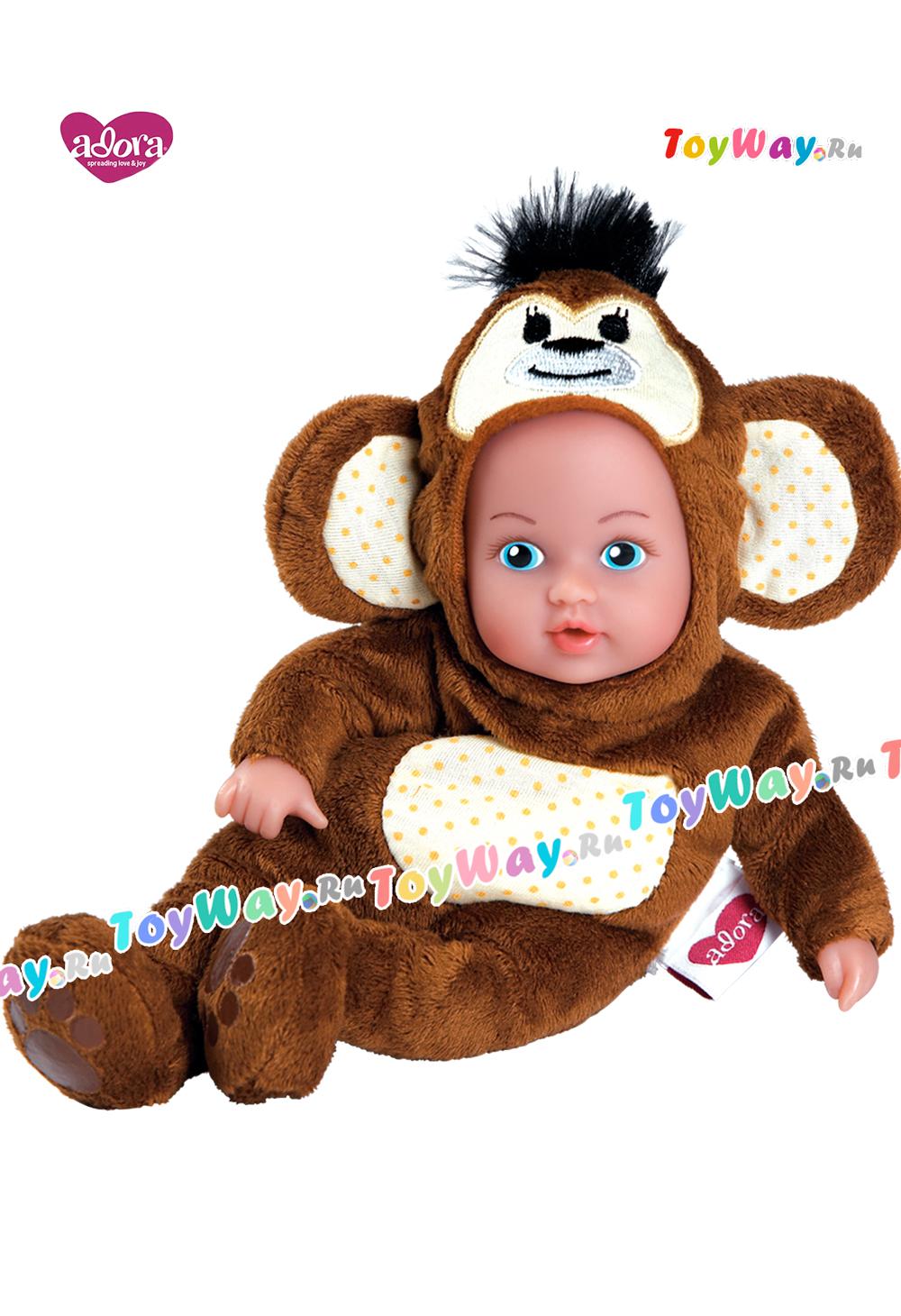 Кукла - Обезьянка, 20 смКуклы Адора<br>Кукла - Обезьянка, 20 см<br>