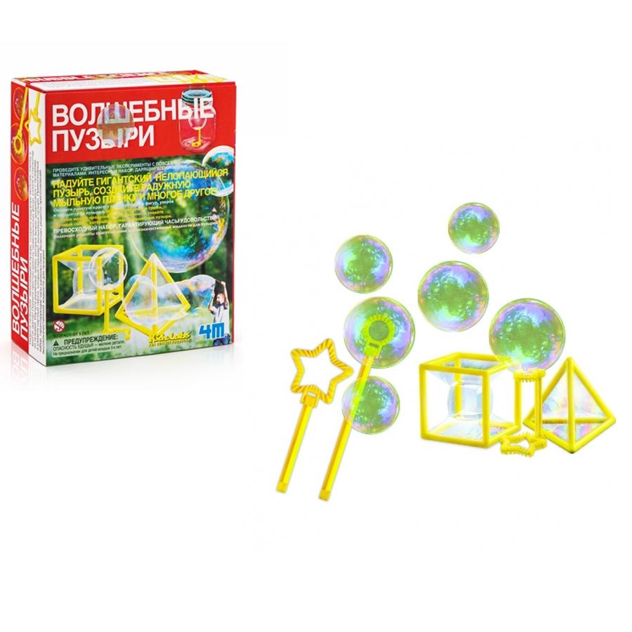 Купить Набор для экспериментов - Волшебные пузыри, 4M