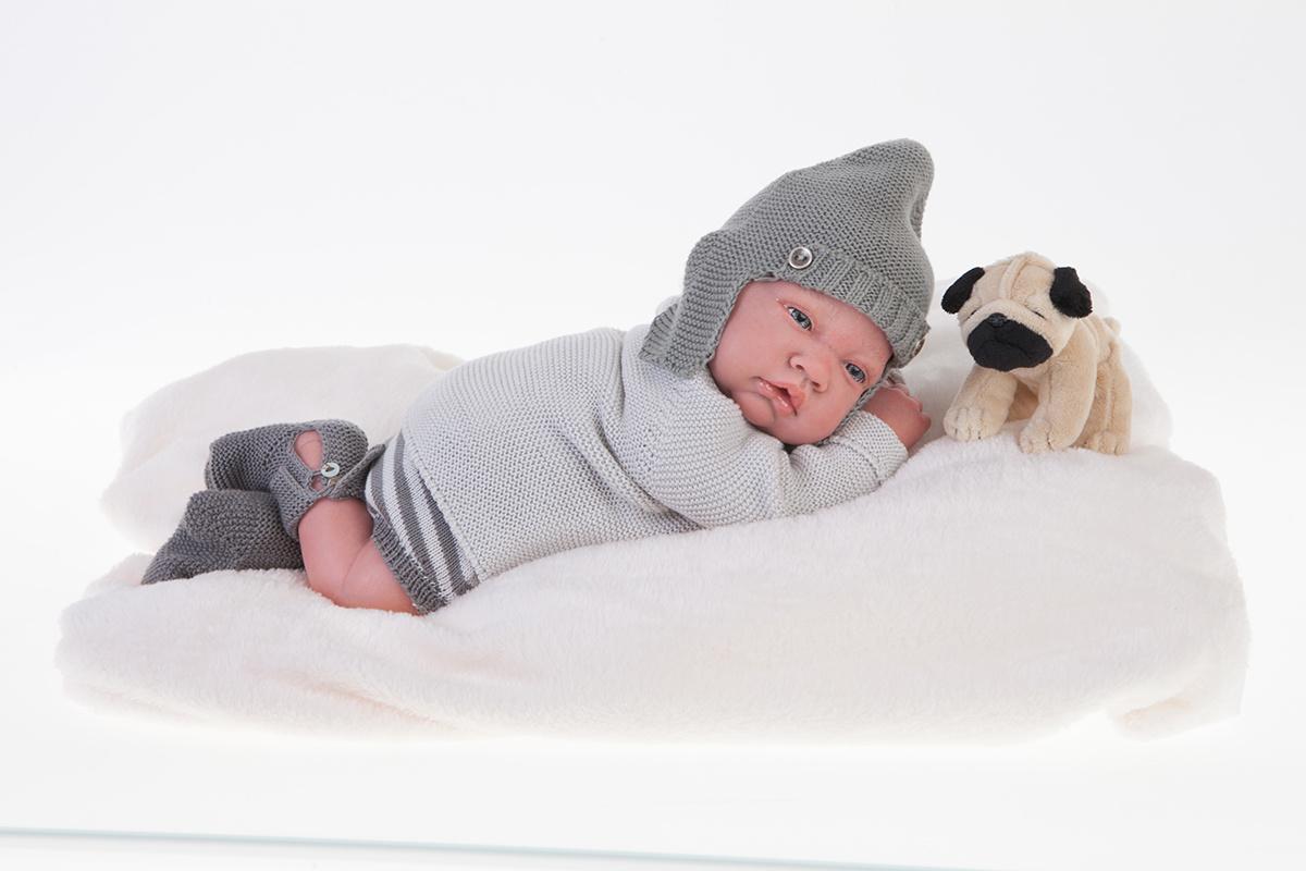 Кукла Реборн младенец Игнасио, 40 см.Куклы Антонио Хуан (Antonio Juan Munecas)<br>Кукла Реборн младенец Игнасио, 40 см.<br>