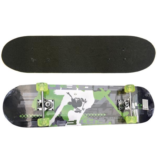 Скейтборд - Life Free, дека 79х20 см, полиуретановые колеса