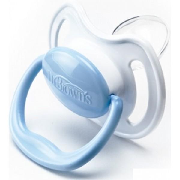 Купить Пустышки Dr Brown's силиконовые ортодонтические, от 18 месяцев, 2 штуки, Dr. Brown's